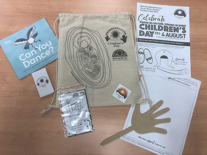 National Aboriginal and Torres Strait Islander Children's Day 2021 bag resource